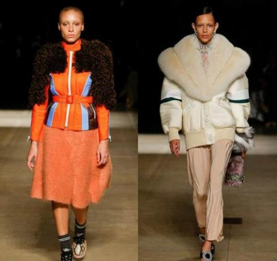 Модные женские куртки с натуральным мехом