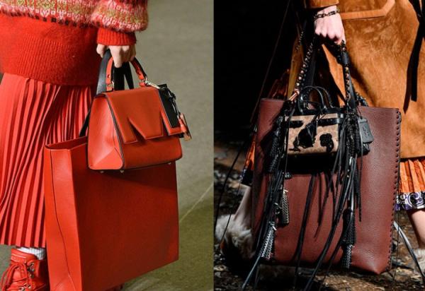 Большие и маленькие сумочки
