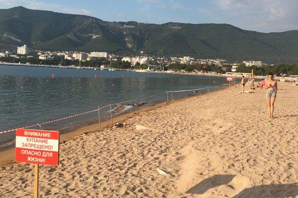 Закрытие пляжей в результате прорыва канализации
