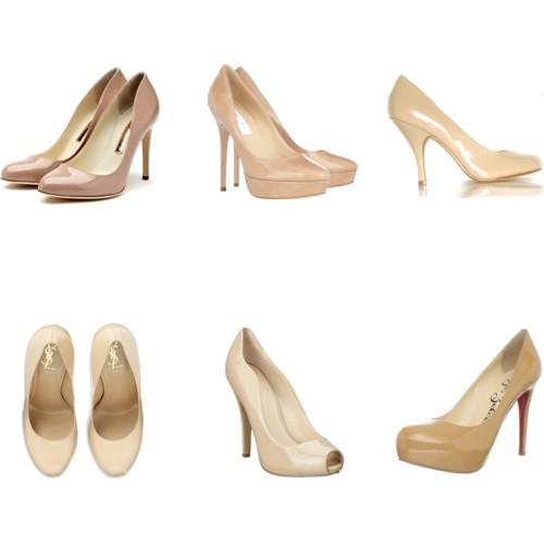 Модные женские туфли пастельных оттенков