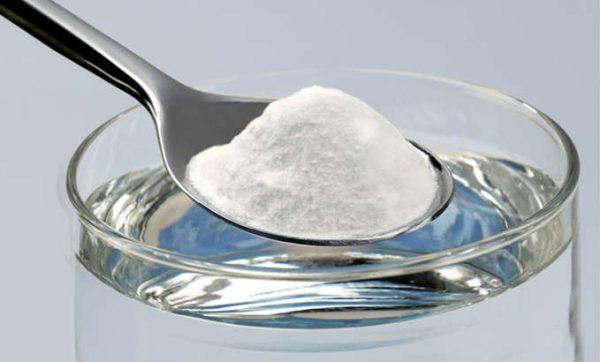 Пищевая сода для очищения серебра