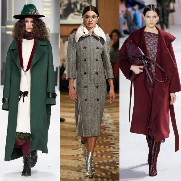 Свободные пальто