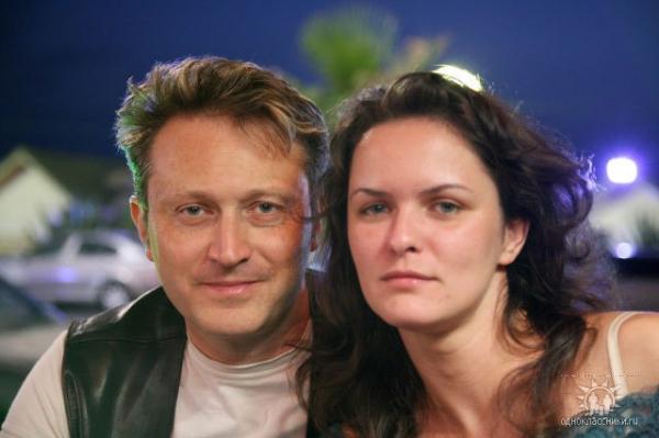 Елена со своим новым супругом