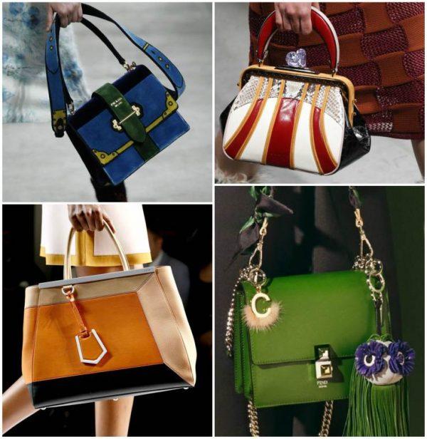 Актуальные расцветки сумок