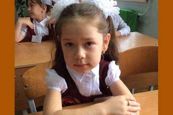 Пропавшая в Каспийске девочка Калимат Омарова