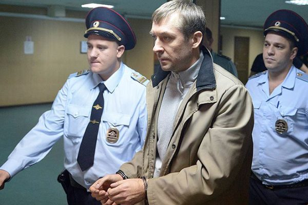 Арест бывшего полковника МВД