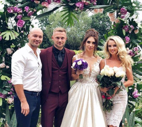 Татьяна Мусульбес и Виктор Литвинов поженились