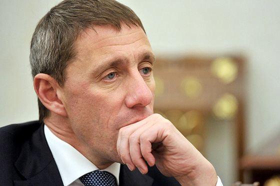 Крупный банкир Владимир Коган