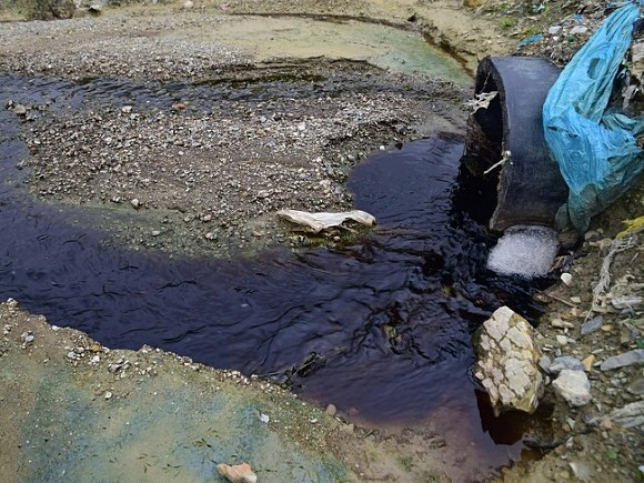 Прорыв канализации в Геленджике