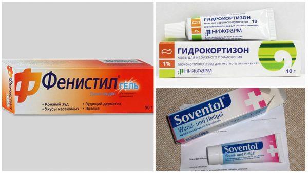 Какие лекарственные препараты применять при укусах осы