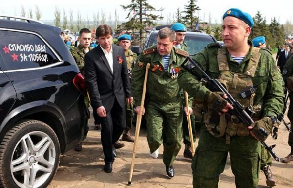 Захарченко получил ранение в ногу