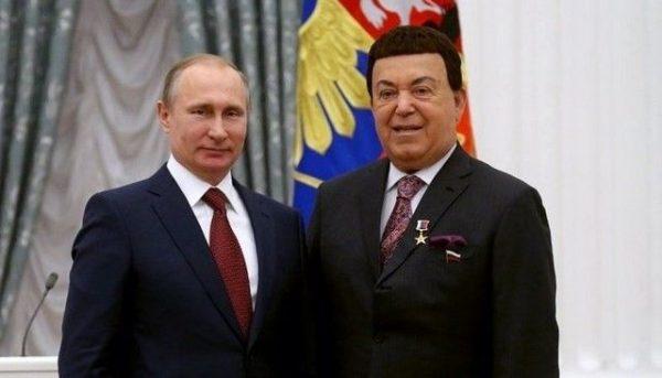 С президентом РФ Владимиром Путиным