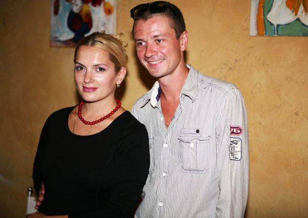 Мария Порошина со своим вторым мужем Ильей Древновым