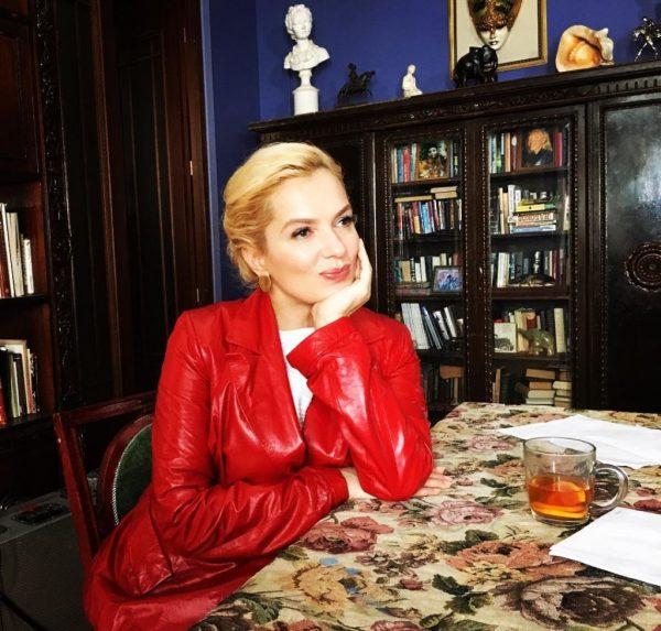Мария Порошина станет мамой в пятый раз