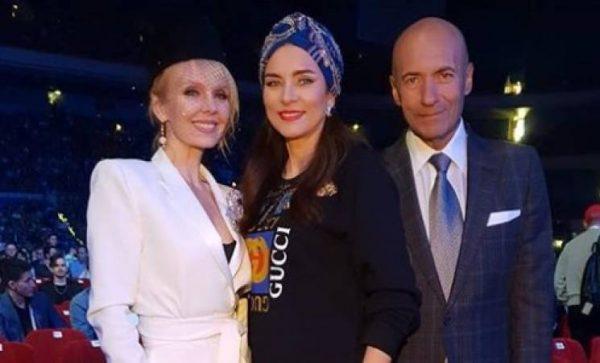 Игорь Крутой с женой и певицей Валерией