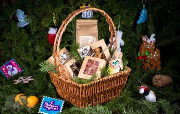 Наборы сладостей под елку