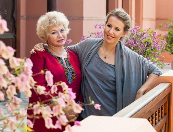 Ксения со своей мамой