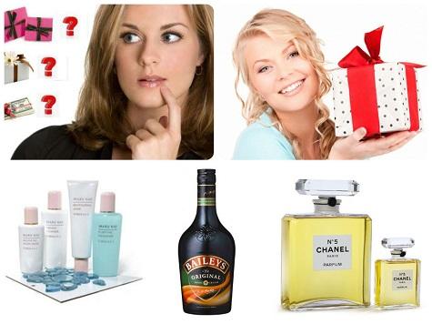 Варианты подарков для девушки