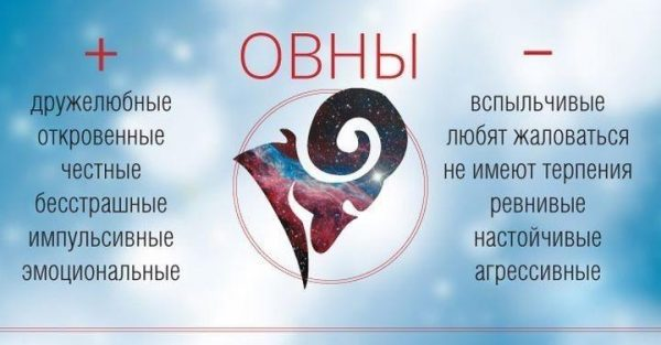 Гороскоп Овна