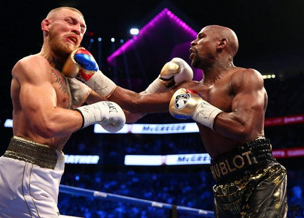 Мэйвезер vs Макгрегор бой