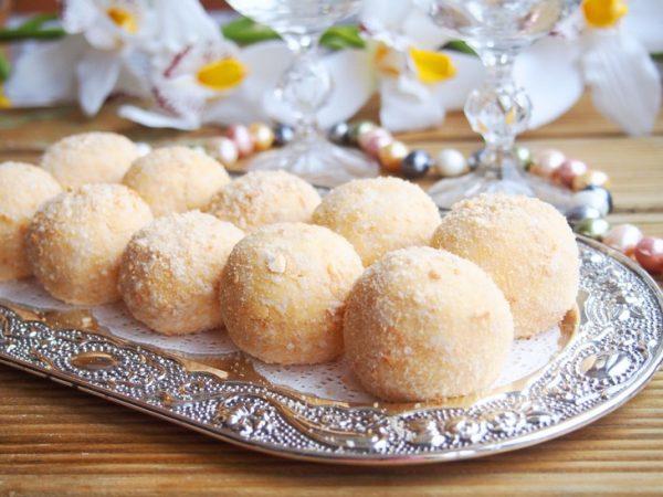 Сырные шарики с грибами