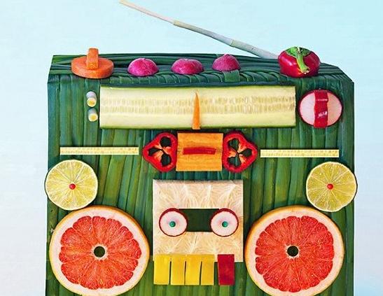 Овощной радиоприемник