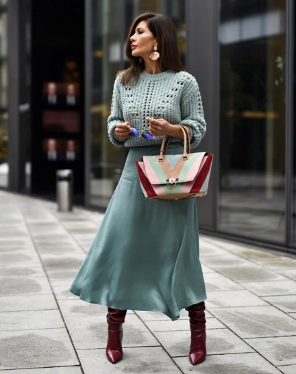Модные повседневные образы осень 2018 для женщин: фото, луки