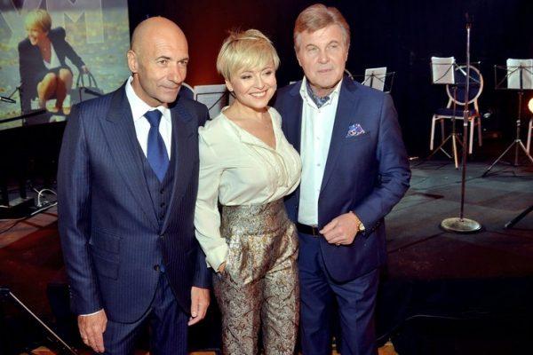 Игорь Крутой на презентации нового альбома Анжелики Варум