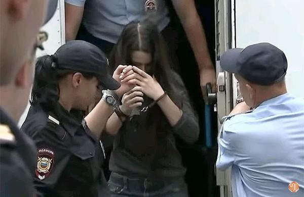 Арест девушек