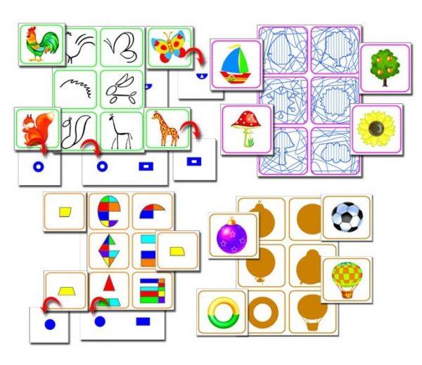 Развивающие игры для детей дошкольного возраста