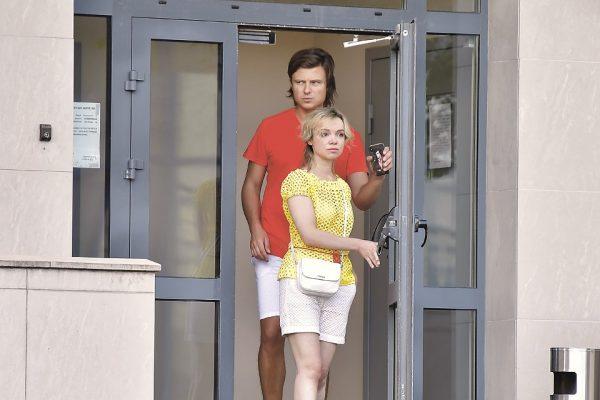 Прохор и Виталина уединились в отеле