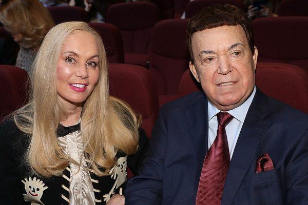 Иосиф Давыдович со своей женой Нелли