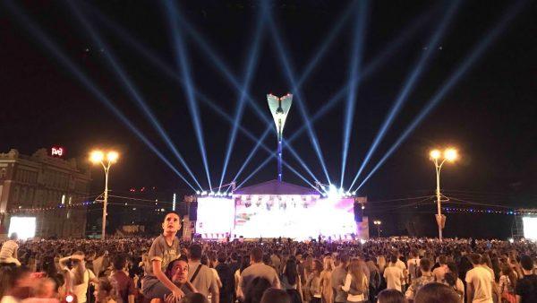 Концерт возле реки Дон