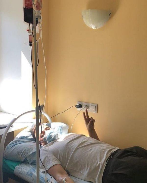 Тимур Гайдуков находится на лечение в больнице