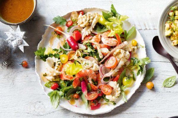 Салат с тунцом «Диетический»