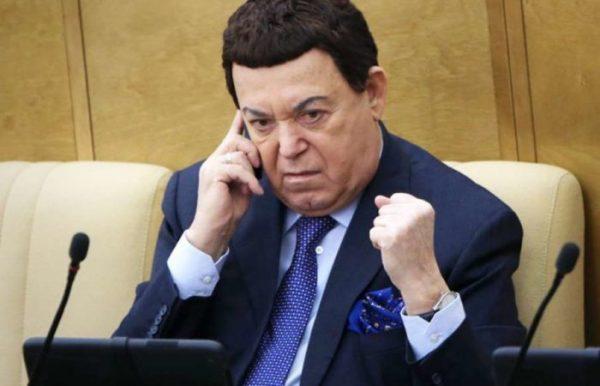 Иосиф Давыдович Кобзон депутат Государственной думы