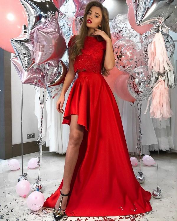 Модный образ на Новый 2019 год для девушки