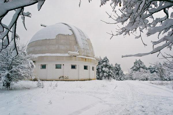обсерватория в поселке «Научный»