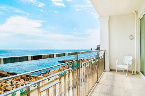 Вид из отеля «Пальмира Палас»