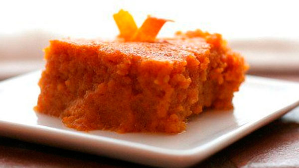 Морковный пудинг