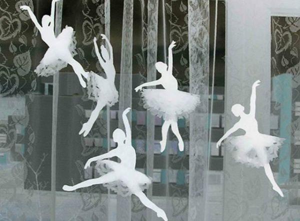 Снежинка-балерина