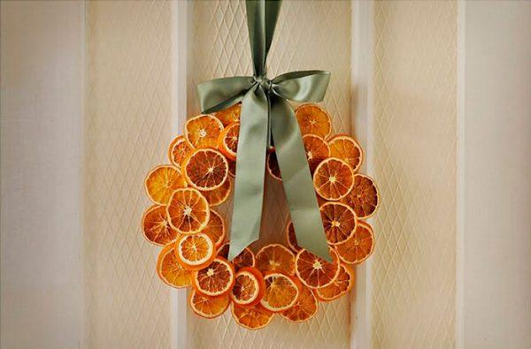 Из апельсина