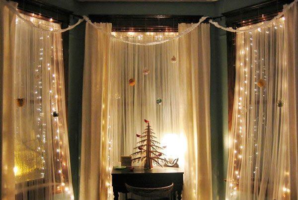 Идеи декора штор