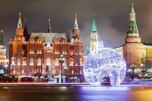 Где можно встретить Новый год 2019 в Москве