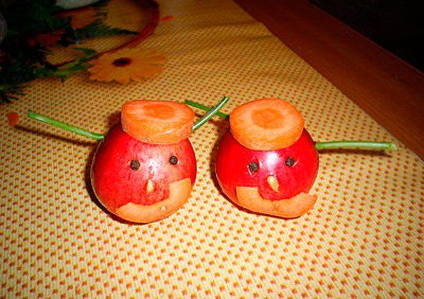Идеи поделок из овощей и фруктов своими руками для выставки в садик