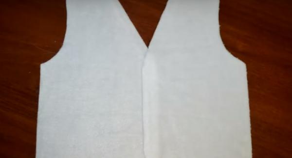 DIY: Красивый новогодний костюм для мальчика своими руками