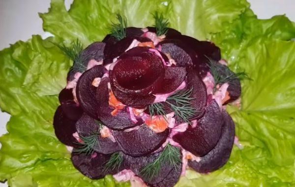 Салат необыкновенный