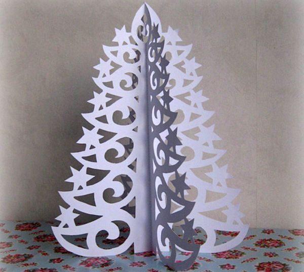 Ажурная елка