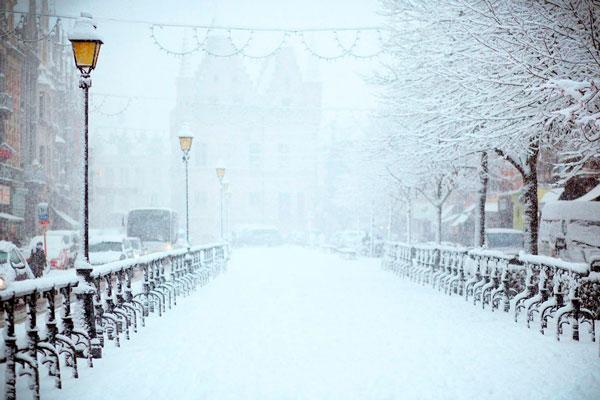 Прогноз погоды на январь в Москве и Московской области