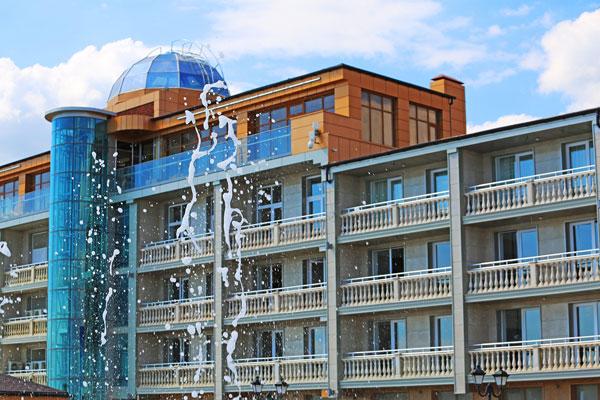 Ribera Resort & SPA снаружи